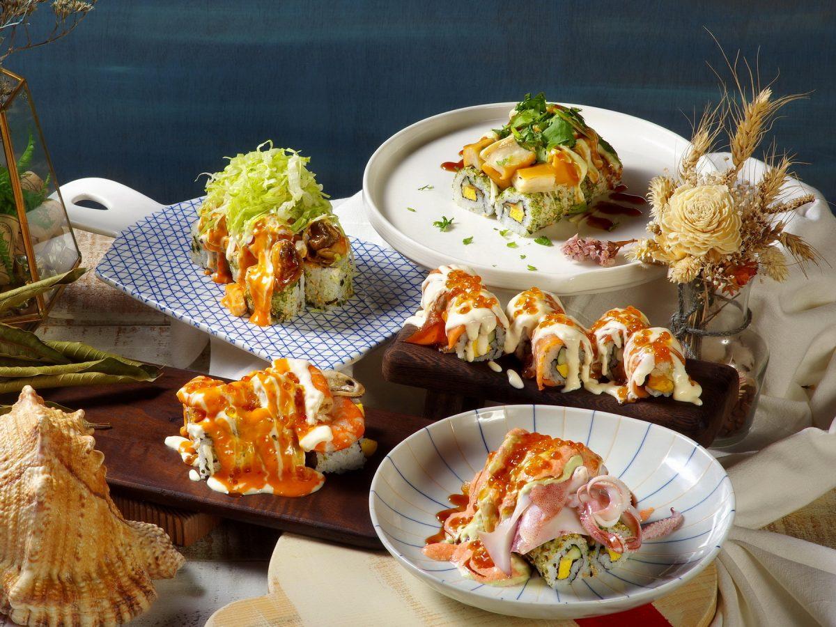 「火山卷料理」好食爆發新上市