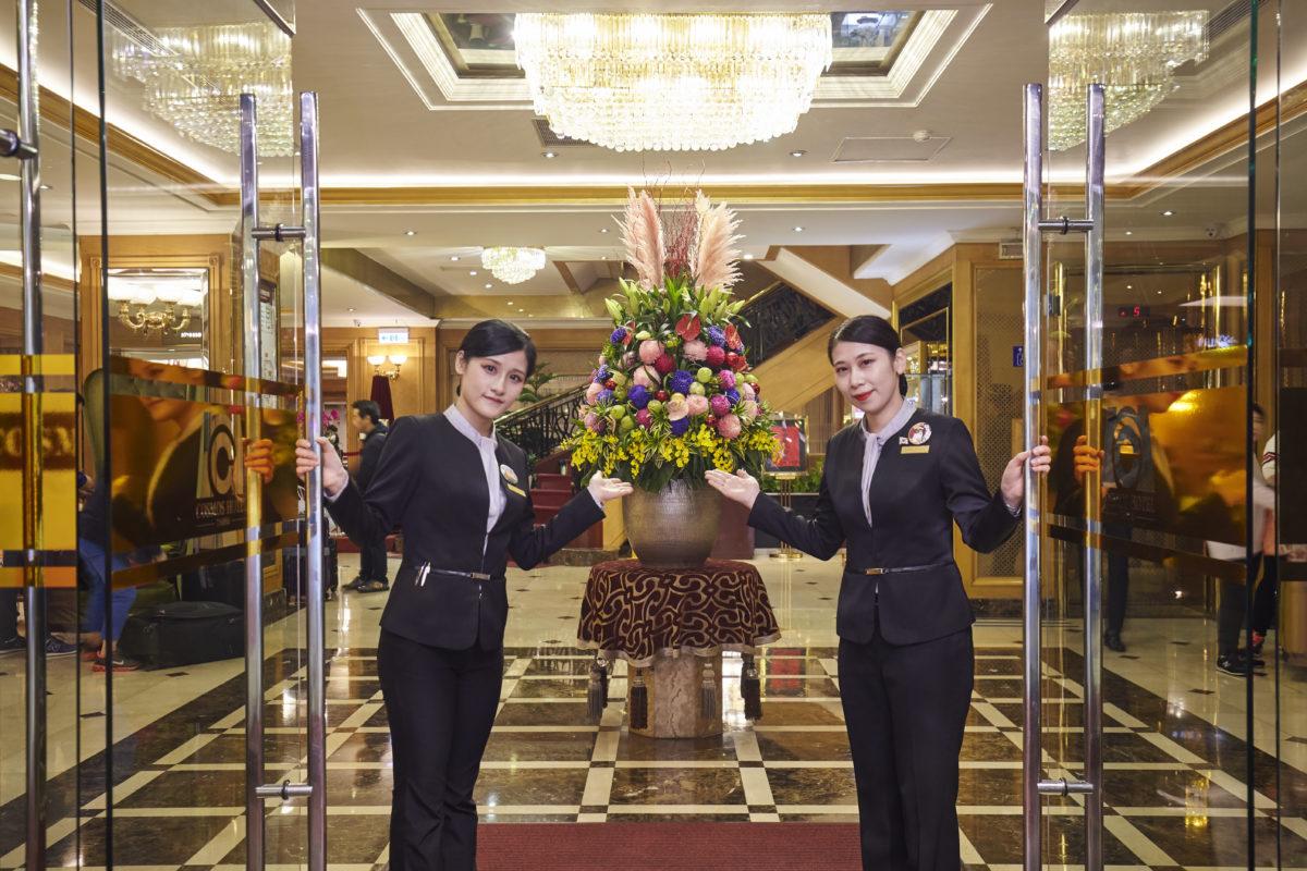 天成飯店集團共同防疫措施公告