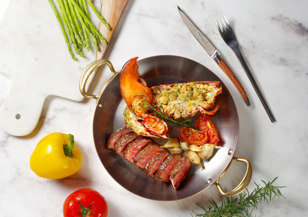 PRIME ONE牛排館經典海陸午間雙主菜套餐 1,480元+10%