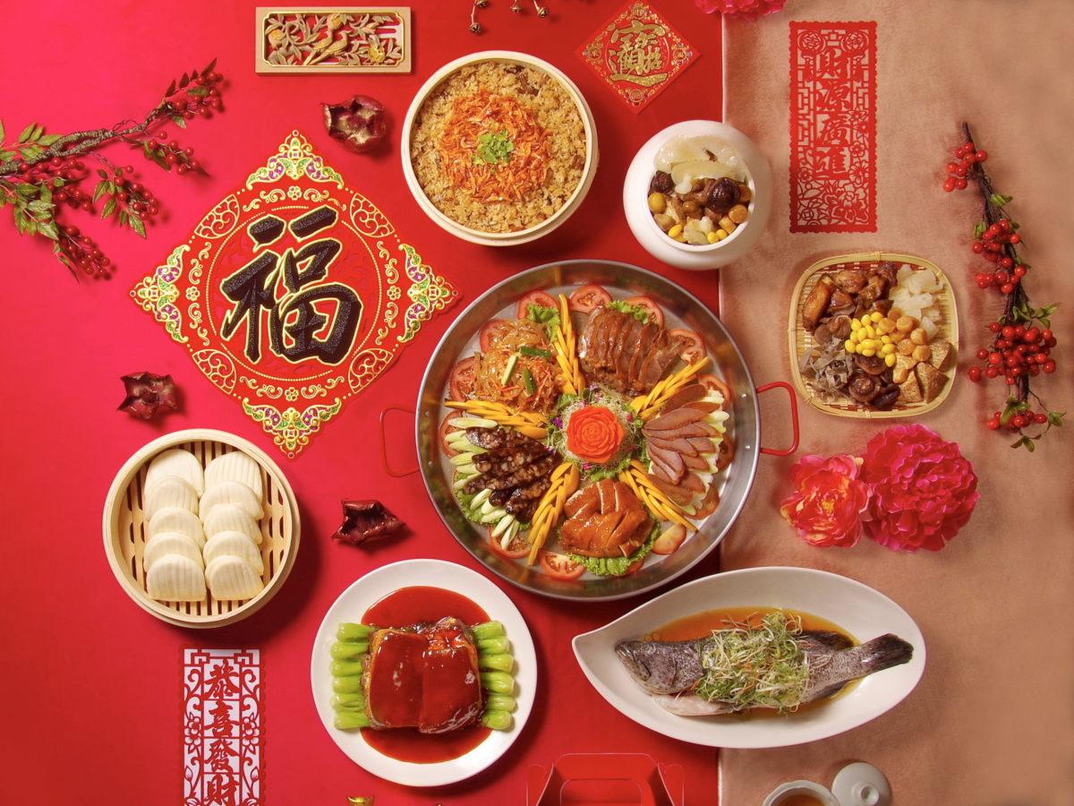台北天成大飯店「鴻運呈祥賀新年」外帶年菜,10人份套餐5,888元 單點年菜688元起