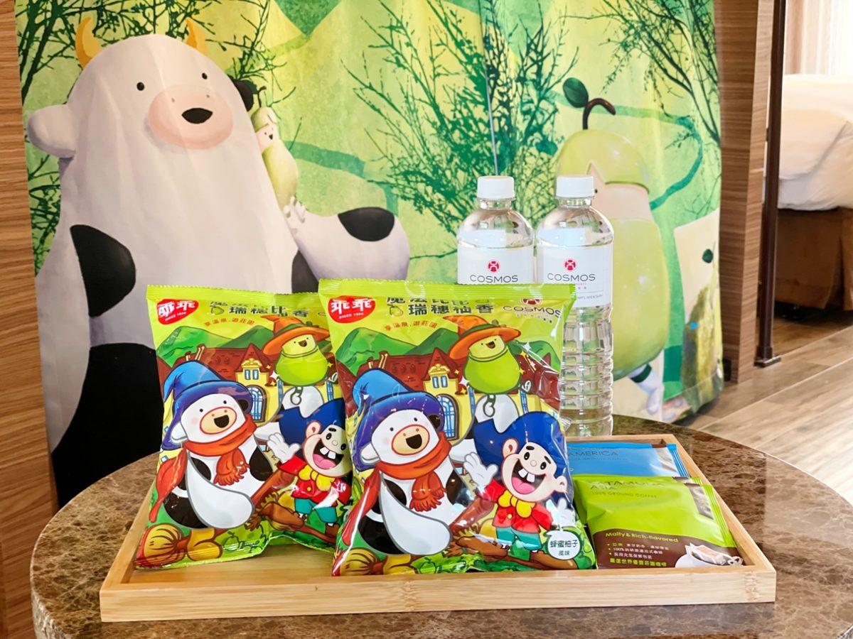 天成飯店集團與「乖乖」跨品牌合作 推出全台第一包飯店聯名款「魔法比比瑞穗柚香乖乖」