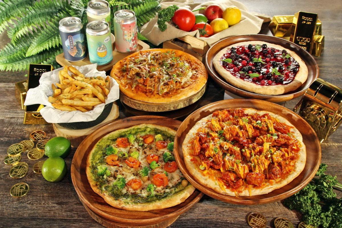 披薩歡樂住 住宿含早加贈披薩組合餐 再享24小時住好住滿